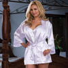 Bride robe and babydoll