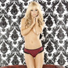 Bedroom bordello ruffle g-string
