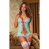 Wild Orchid babydoll and hipster panty