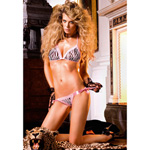 Two-piece side tie bikini set reviews