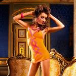 Ruffle mesh slip dress reviews