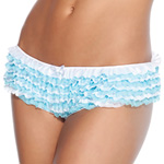 Blue and white ruffle panty reviews