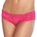 Fuchsia lace crotchless panty reviews