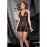 Stretch lace chemise and g-string reviews