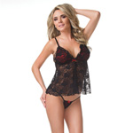 Lace babydoll and g-string reviews