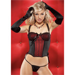 Luxurious corset with g-string reviews