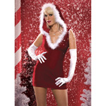 Santa baby velvet dress reviews