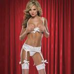 Shelf bra and garter panty set reviews