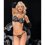 Star sequin bra and g-string reviews
