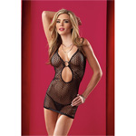 Halter fishnet dress with g-string reviews