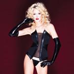Darque pleather corset reviews