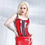 Wetlook bustier with padded cups reviews