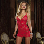 Red lace courtesan chemise reviews