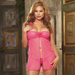 Strapless babydoll thong and toy reviews