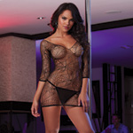 Spider web dress and g-string reviews