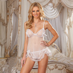 Open cup babydoll and g-string reviews