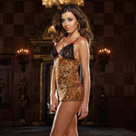 A little bit wild leopard chemise and thong reviews