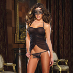 Chemise mask and thong reviews