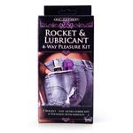 Rocket & lubricant 4-way pleasure kit reviews