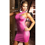 Pink dress with zipper detail reviews