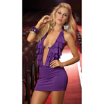 Orchid ruffled front dress reviews