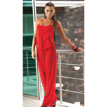 Long pant set with matching g-string red reviews