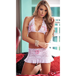 White peek a boo babydoll and g-string reviews