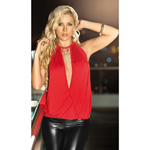 Red halter top reviews
