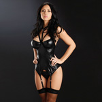 Silver ring bustier with hose reviews