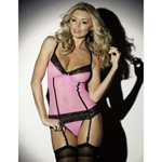 I love pink bustier set reviews
