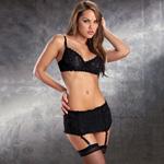Sexy lace four piece set reviews