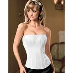 White Tesa`s classic corset reviews