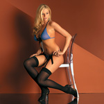 Opaque thigh high reviews