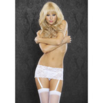 White garter belt reviews