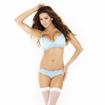 Delicate angels blue padded bra reviews
