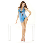 Blue halter babydoll and g-string reviews