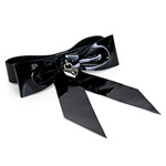 Patent leather bow wrist restraint reviews