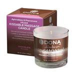 Body massage candle