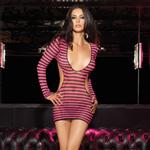 Fishnet mini dress cut out back reviews