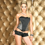 Satine studded bustier reviews