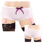 Garter ruffle panty reviews