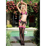 Boudoir rose lace set reviews