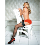 Fishnet stockings with satin ribbon reviews