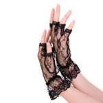 Fingerless ruffle gloves reviews