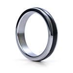 Black band stainless steel cock ring reviews