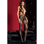 Deep-V lace bodystocking reviews