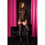 Lace mini dress & thigh highs reviews