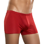 Red knit silk low rise short reviews