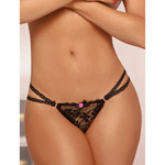 Delicate lace thong reviews