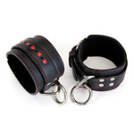 Hearts leather wrist cuffs reviews